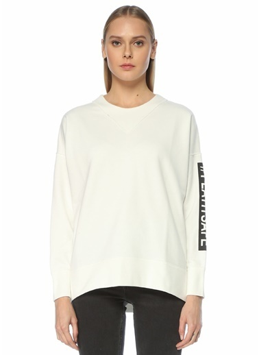 Beymen Club Sweatshirt Ekru
